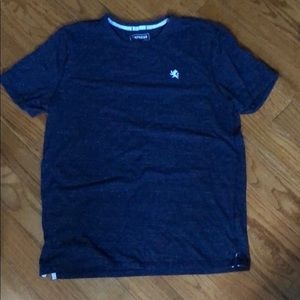 EXPRESS men's large navy heather tee